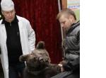 Валерий Соболев спас рысь в театре зверей имени Дурова